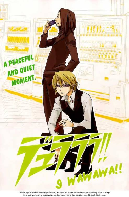 LOVE this pic of Shizuo