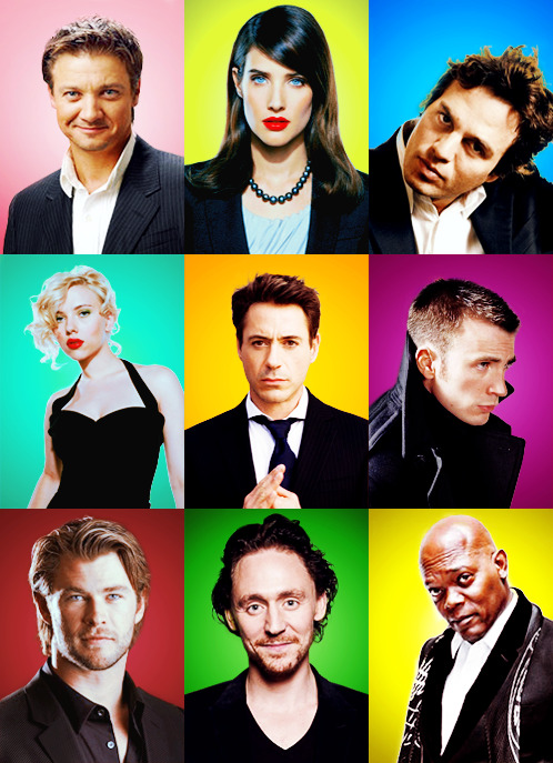 itsraininbritishmen:  caflice:  The Avengers cast in black  Sexual Preferrence is not relevant right now