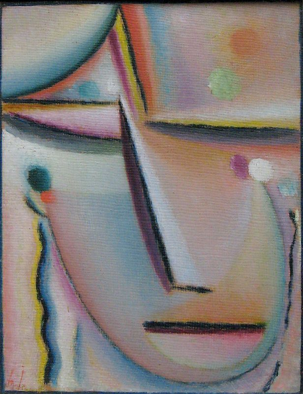 Alexei Jawlensky: Meditation The Prayer, 1922Photograph by Sharon Mollerus, link