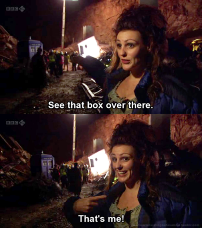 My love for Suranne Jones knows no bounds. Neither does my love for this episode. On my flight back from LA after VidCon, I watched it three times in a row.
