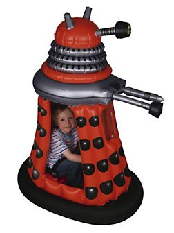 doctorwho:  Doctor Who Dalek Drone Ride-In younevergetold:  Dear santa i want this for Christmas.   There should be a Doctor Who Theme Park, and these should be the Dalek Bumper Cars. I will drive around in it.