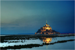 allthingseurope:  Le Mont-Saint-Michel, France (by **EDV**)