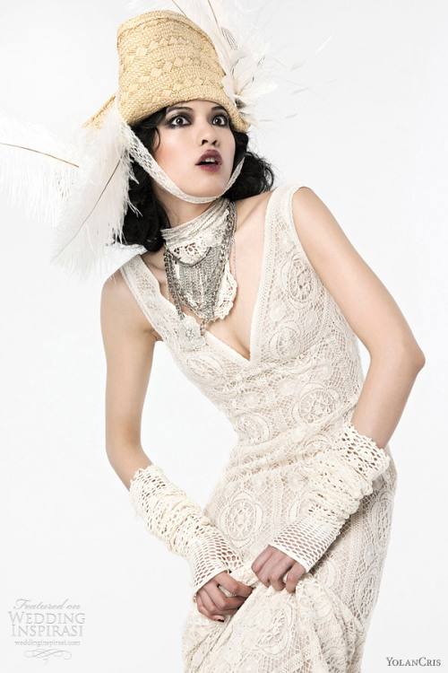 YolanCris Wedding Dresses 2012 Lumière Bridal Collection