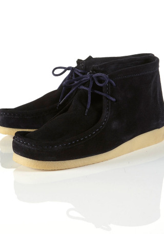 "46% Off! Now £25 ""tanami"" Navy Wallaby Boots by Topman"" tanami"" navy suede wallaby boot. 100 leather.More…"