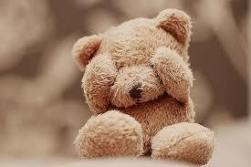 Don't scary my TeddyBear! ~(˘⌣˘)~(˘⌣˘)~