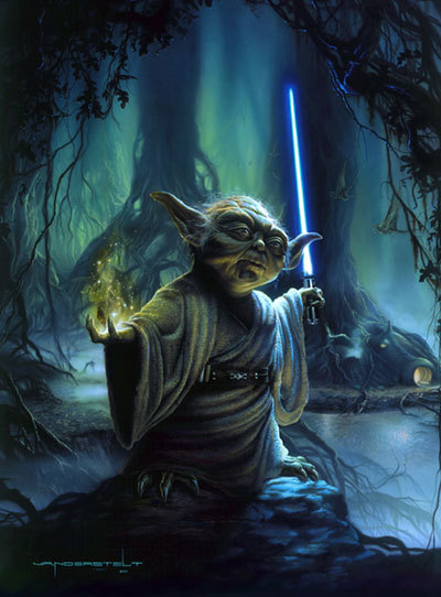 Yoda by Jerry Vanderstelt