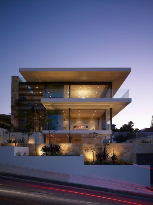 Four level home in sydney designed by MPR Design Group