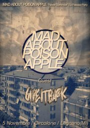 MAD ABOUT POISON APPLE - RELEASE  EP guest Give It Back. @ Circolone.   Oggi alle 21.30 -  Domani alle 0.30