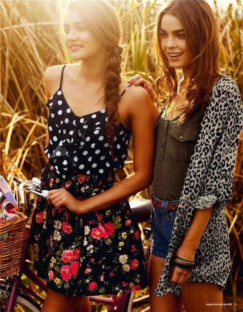 australian-models:  Bambi Northwood-Blyth (on the right)