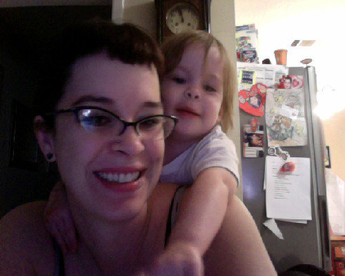 Baking muffins, jamming Bright Eyes, and loving life.