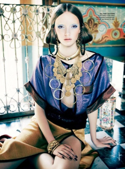 fuckyeahvintagediary:  Codie Young by Nicole Bentley for Vogue Australia April 2011