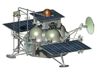 On 8 November the Russian Fobos-Grunt and Chinese Yinghuo 1 spacecraft are set to embark on their joint mission to Mars and its moon Phobos. The two probes will blast off from the Baikonur Cosmodrome in Kazakhstan atop a Zenit2-Fregat launch vehicle. The spacecraft will arrive at Mars in the autumn of 2012. Fobos-Grunt will enter Martian orbit, studying the planet for some months then landing on Phobos in the spring of 2013. A sub-probe will collect samples from Phobos over a few days, before departing to return them to Earth with a planned arrival in August 2014. Yinghuo 1 is the first Chinese mission to Mars. It will operate in Martian orbit for one year, studying the planet and its external environment, including the interaction of its magnetic field with the solar wind. The Fobos-Grunt sample return capsule includes the Living Interplanetary Flight Experiment (LIFE) developed by the Planetary Society. LIFE carries 10 types of organisms selected for their ability to withstand harsh conditions. The organisms will travel from Earth to Phobos and back with a similar exposure to the space environment that they would have inside a rock. The experiment aims to test the premise that simple life could survive the journey from one planet to another, if that rock was thrown into space through a meteorite impact.Fobos-Grunt mission home pagehttp://phobos.cosmos.ru/index.php?id=618&L=2Roscosmos (Russian Space Agency)http://www.federalspace.ru/main.php?lang=en Source: Roscosmos Facebook page