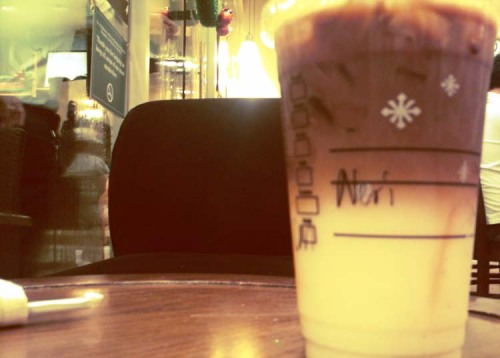 "'Neri' instead of ""Merie"". Always misspelled. (@Starbucks, McKinley)"