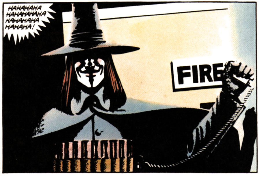 "From ""V for Vendetta"" by Alan Moore"