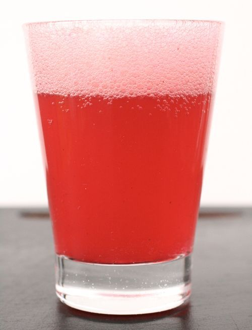 hellyeahrecipes:  Cranberry-Lime Shrub Sparkler For the shrub 12 oz. (3 cups) cranberries, rinsed and picked over  1 cup granulated sugar  3/4 cup Champagne or white wine vinegar  1 strip lime zest (1/2 x 2 inches) For the sparklers 1 cup seltzer, tonic water, or sparkling cider  1 fl. oz. vodka (optional) Make the shrub In a 4-quart saucepan, combine the cranberries, sugar, vinegar, and lime zest with 3 cups of water and bring to a boil over medium-high heat. Reduce the heat to low, cover, and simmer until the cranberries are completely broken down, about 20 minutes. Let cool.  Purée with an immersion blender. Strain through a fine sieve set over a large bowl, pressing hard on the solids to extract as much liquid as possible. Make the sparklers Per drink, combine 3 to 4 Tbs. of the chilled shrub with cold seltzer (and vodka, if you like).