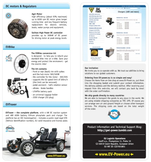 GWL Power Overview Catalogue at eCarTec 2011 (2)