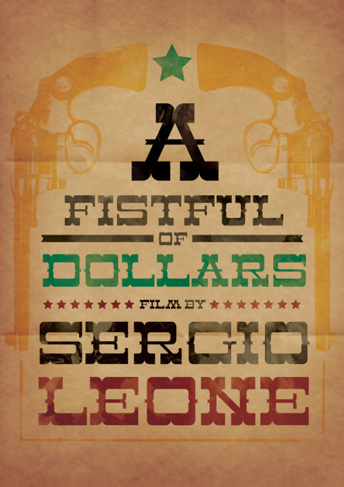 A Fistful of Dollars by Majkol