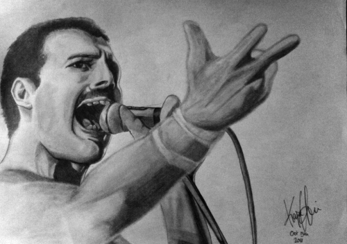 Freddie Mercury (requested by Axel Granbom)
