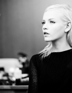 war-d:  Ginta Lapina For more fashion/models photos go to my blog