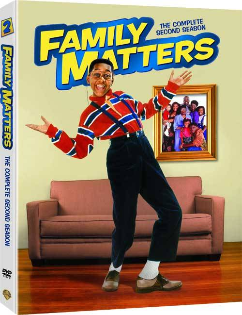 It's not like Urkel is part of the reason why I don't like Family Matters the way I did when I was a child.  Thanks, Warners!