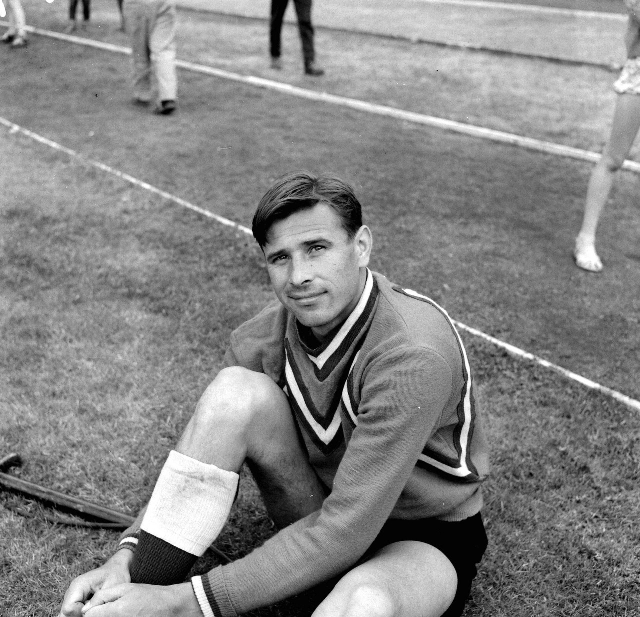 Lev Yashin at World Cup 1958.