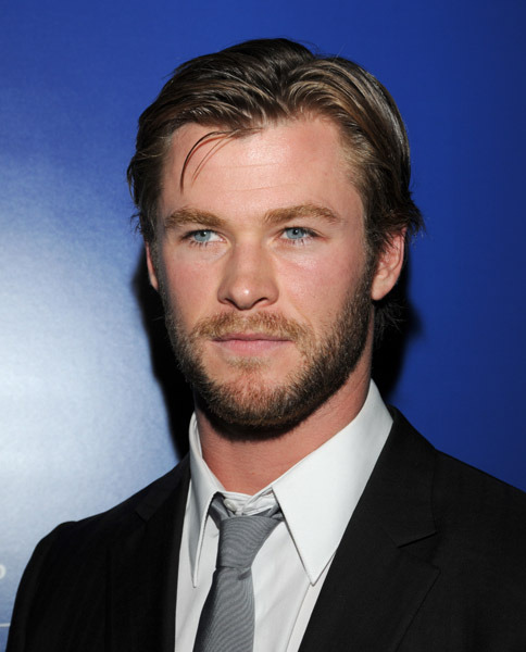 Chris Hemsworth at an event