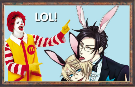 Happy Birthday Alois from Ronald McDonald.