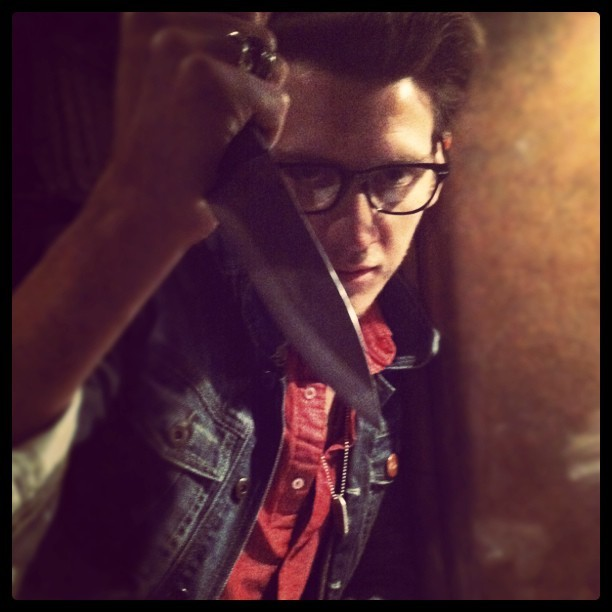 johnnyminardi:  This idiot @NickSantino is on the loose. (Taken with instagram)