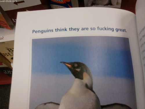 thrusted:  fucking penguins