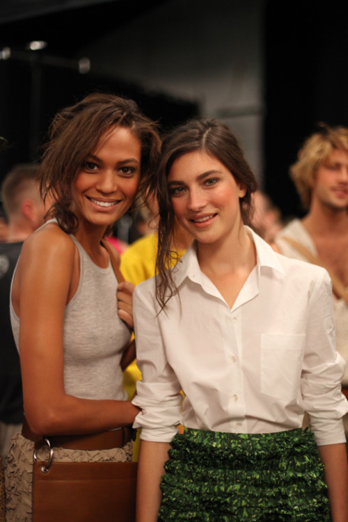 Joan and JJ. Michael Kors S/S 11. I need to stop posting…someone tell me to stop. These are totally on my .com but it's more fun tumbling.