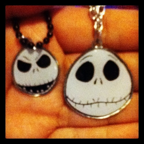 My necklaces. :)