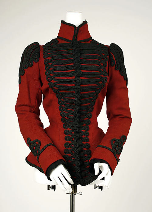 omgthatdress:  Jacket 1899 The Metropolitan Museum of Art