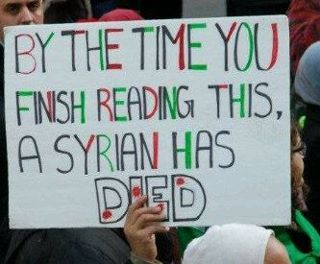 "‎""There is no Eid when there is a Shaheed (martyr) every day"" - Syria"
