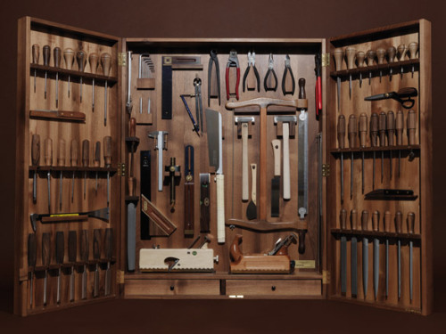 abbyjean:  Tool box by WohnGeist (via Wallpaper*)