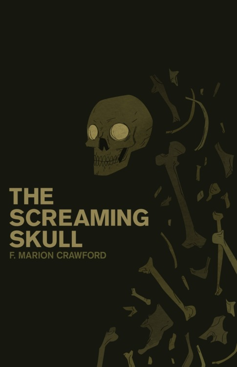 The Screaming Skull - Epic Book Cover Redesign Original source: [link]