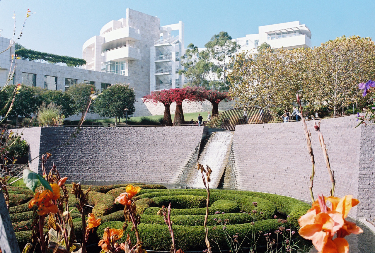 Getty Center Garden. [Nikon F3. Kodak Portra.]