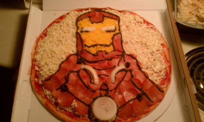 iron man pizza