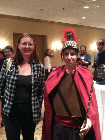 Amy and her Centurion!