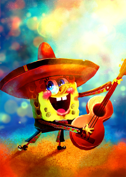 Spongebob by =Tyra-WM