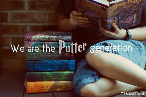 Growing up Potter <3