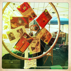 Spoke card display.