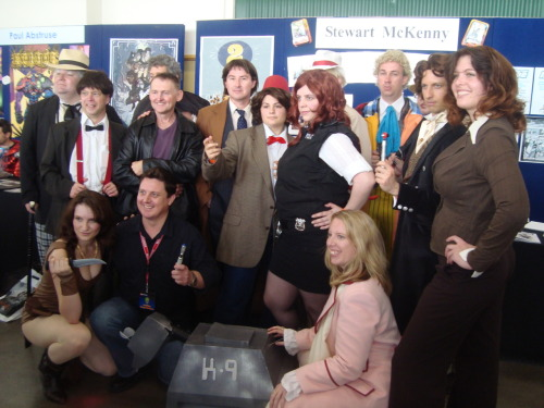 Whovians at Supanova whoviancosplay:  SO MUCH WHO!  This past weekend shall here forth be known as The Unintentional Weekend of Worldwide Whovian Cosplay