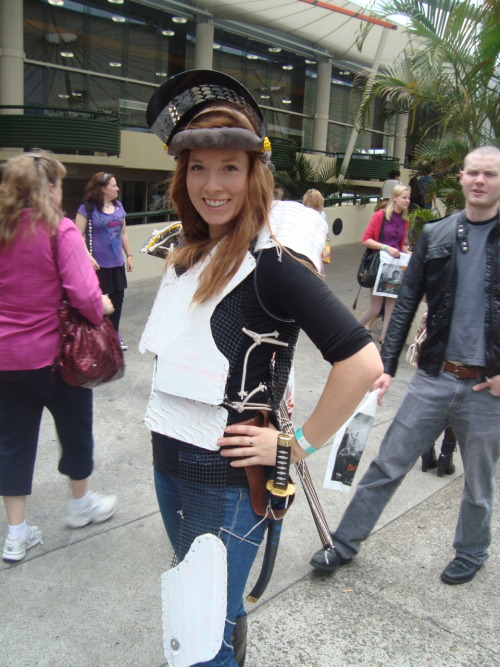 Old Amy Cosplay at Supanova 2011 whoviancosplay:  This was so clever, I was a little angry that I hadn't thought of it first.  This past weekend shall here forth be known as The Unintentional Weekend of Worldwide Whovian Cosplay