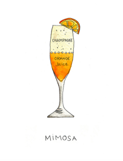 panaceum:  mimosa illustration (by ilovedrywell)