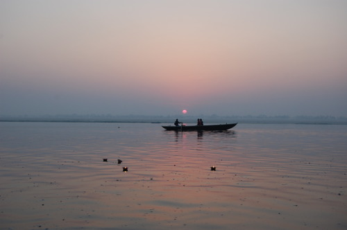This was taken at dawn in Varanasi in India, a place where the river Ganges is meant to have magic proprieties. submitted by: proofreadbyadyslexic, thanks!