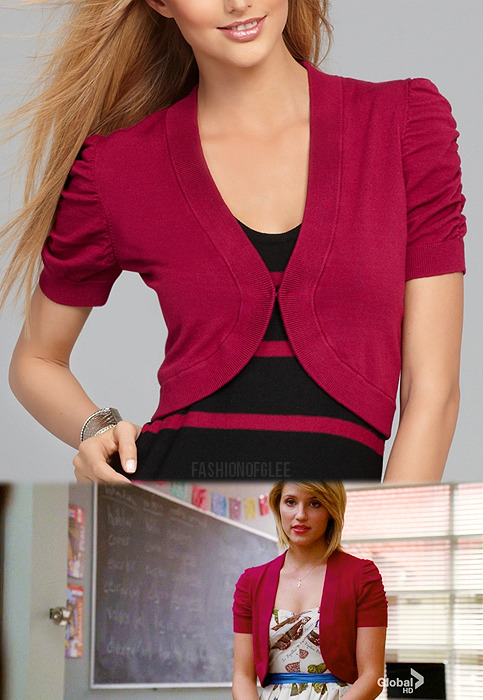 Macy's INC International Concepts Short Ruched Sleeve Cropped Shrug - $41.65 Worn with: Anthropologie dress