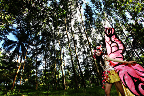 Trapped in wonderland…  (Cherryli's Pre-Debut Photoshoot, Surigao City) Photography: ©Richie Rich Photography,   Theme and Concept: ©Happily Ever After Events and Creatives Costumes: ©Donald Cayasa Designs and Landscapes