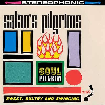 Satan's Pilgrims, Soul Pilgrim LP coverEstrus Records, 1995Art director: Art Chantry Source: Cover Art