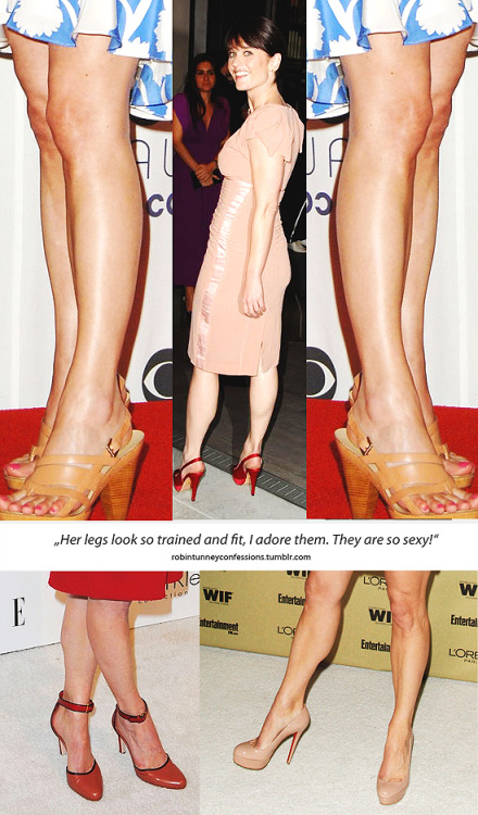 "Robin Tunney Confession: ""Her legs look so trained and fit, I adore them. They are so sexy!"""