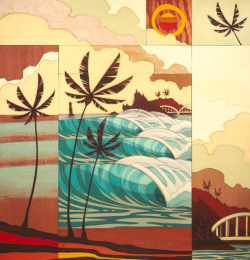 2011 Reef Hawaiian Pro | Artwork by: Erik Abel